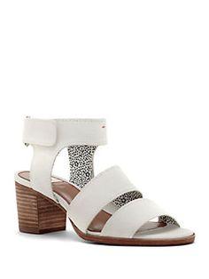 Ed Ellen Degeneres - Tahni Leather Open-Toe Sandals
