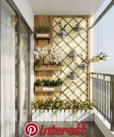 Balkon in der skandinavischen Wohnung . - Balcony in the Scandinavian apartment – Herz Balkon in der ska - Small Balcony Design, Small Balcony Garden, Small Balcony Decor, Small Balconies, Outdoor Balcony, Balcony Plants, Modern Balcony, Balcony Flowers, Balcony Gardening