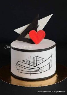 Engineering Cake, Architecture Cake, Building Cake, Cake For Boyfriend, Sunflower Cakes, Pretty Wedding Cakes, Elephant Cakes, Fondant Figures, Rose Cake