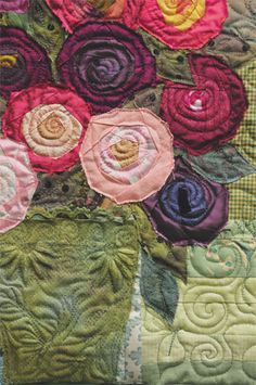 little bouquet quilt-along quilted | Flickr - Photo Sharing!