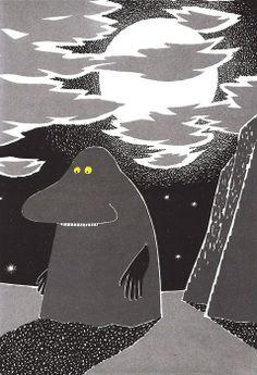 モランだ!モランって人間で、しかもおばあちゃんなんだよたしか。 yajifun: Vintage Kids' Books My Kid Loves: Who Will Comfort Toffle? Tove Jansson