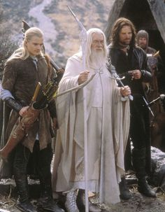 Legolas, Aragorn, Gandalf, and Gimli and the background Lord of the rings Gandalf, Legolas And Aragorn, Thranduil, Tauriel, Jrr Tolkien, Geek Culture, Frodo Baggins, Thorin Oakenshield, Die 100
