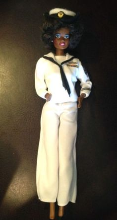 Vintage United States Navy African American Barbie Doll 1966