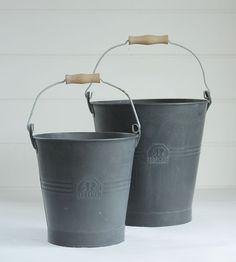 Redecker Buckets: Remodelista