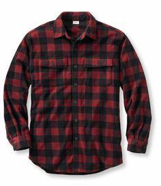 Bean's Fleece Shirt, Plaid