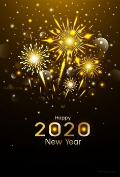 Happy new year design gold fireworks Royalty Free Vector , Happy New Year Design, New Year Designs, Happy New Year 2020, Happy Year, Happy New Year Stickers, Hd Wallpaper 4k, Wallpapers, Independence Day Background, Happy New Year Fireworks