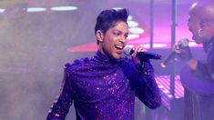 "Prince has been a special presence here at 'Saturday Night Live' for the last four decades,"" he said. Description from variety.com. I searched for this on bing.com/images"