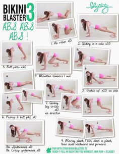 Live Healthy: Bikini body workout