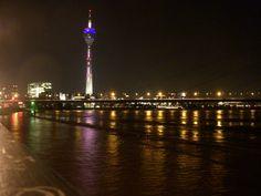Hochwasser in Düsseldorf, Foto: S. Hopp
