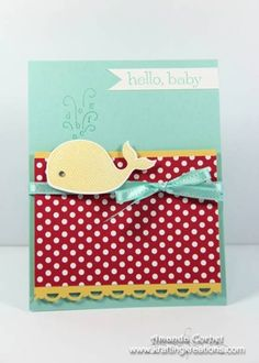 Oh Whale! by zainy3018 - Cards and Paper Crafts at Splitcoaststampers