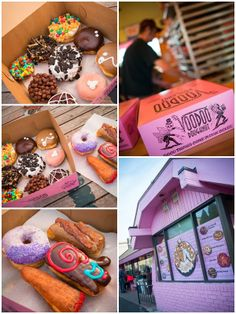 Voodoo Donut Shop in Portland. Annika make sure you go here for research