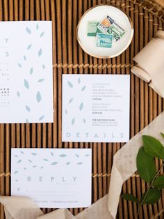 Featured Photographer:Jen S Photography; wedding invitation idea