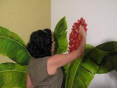 novas pinturas no Brava club | Argina Seixas
