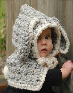 Elephant hoodie hat