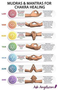 Awakening Chakras with Hand Mudras & Mantra Sounds Chakra Meditation, Chakra Mantra, Kundalini Mantra, Kundalini Meditation, Chakra Art, Spiritual Meditation, Hand Mudras, Chakra Affirmations, Yoga Mantras