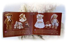 Bukowski Teddy Bears at http://www.sendateddy.net/bukowski-teddy-bears.php #sendateddy #teddybears