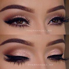 Pinterest: Marrissa Oliver. Ultra seductive eyes by @phernandez_mk   wearing LASHMOPOLITAN lashes by ESQIDO   http://esqido.com