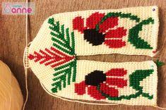 Ayçiçeği Tunus İşi Patik Modeli Yapımı - Canım Anne Tunisian Crochet, Crochet Blouse, Christmas Sweaters, Diy And Crafts, Slippers, Knitting, Holiday Decor, Christmas Tree, Crochet Hats