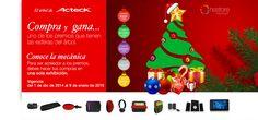 Compra y gana un fantástico regalo que se encuentra en las esferas del árbol de navidad.