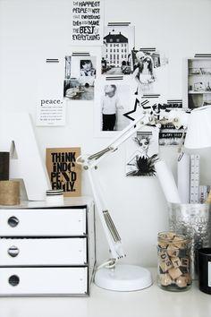 creative workspace from Elisabeth Heier