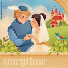 In Storytime Issue 5's folk tale, nothing can stand in the way of true love. Art by Gaia Bordicchia (http://www.gaiabordicchia.com) ~ STORYTIMEMAGAZINE.COM