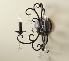 Bellora Sconce #potterybarn