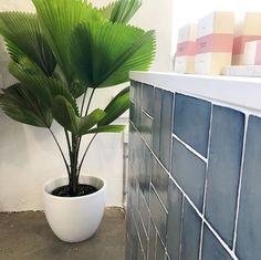 Spanish glazed ceramic 75 x Satin finish Handmade with a reactive glaze Glazed Ceramic, Kitchen Tiles, Wall Tiles, Commercial, Ocean, Moon, Ceramics, Spaces, Handmade