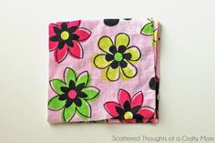 Flower Cuff Bracelet and Tutorial - Scattered Thoughts of a Crafty Mom