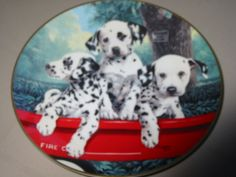 Firehouse Dalmation Princeton Gallery Plate $12.99