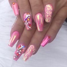 """869 """"Μου αρέσει!"""", 60 σχόλια - 💕💎🦄✨Annabel Maginnis✨🦄💎💕 (@nails_by_annabel_m) στο Instagram: """"#nails #nailart #swarovskicrystals #nailsdid #nailswag #nails4today #nails2inspire #nailstagram…"""""""
