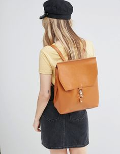 Image 3 of ASOS Clip Front Backpack