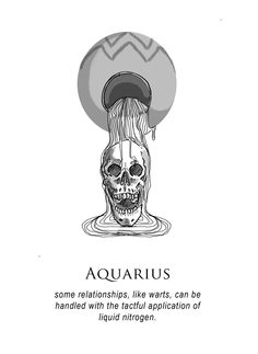 - The Shitty Horoscopes anthology is now funding on Kickstarter! a new zine called shitty horoscopes that i'll be premiering this year at the Toronto Queer Zine Fair, among other things! Aquarius Art, Aquarius Tattoo, Astrology Aquarius, Age Of Aquarius, Zodiac Signs Aquarius, Zodiac Art, Astrology Signs, Dark Astrology, Aquarius Symbol