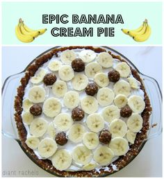 Who says pie can't be gluten-free, vegan, and completely guilt-free? Embedded with cookie dough, oozing chocolate mousse, banana slices, and luscious coconut cream, this pie is sure to impress any dinner guests. Recipe on the blog.