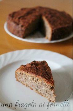 Questa è una torta rustica, realizzata con farina di grano saraceno, perfetta per una ricca prima colazione.   Ingredienti (per una tortiera...