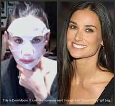 Demi even likes It Works Facials. They are hydrating, fills in lines, firms and rejuvenates the skin.    https://shellymurray.myitworks.com