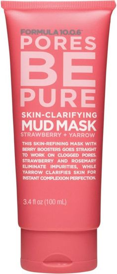 Formula Pores Be Pure Skin-Clarifying Mud Mask Fl.) Purifying Face Mask that Unclogs Pores & Removes Impurities for Clear Skin - Vegan, Sulfate-Free & Cruelty-Free Cellulite Wrap, Causes Of Cellulite, Cellulite Scrub, Cellulite Exercises, Reduce Cellulite, Anti Cellulite, Cellulite Remedies, Cellulite Workout, Underarm Hair Removal
