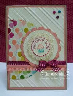 Stampin' Up! Birthday by HAPPY HEART CARDS: