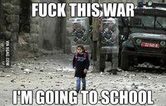 F***k war !