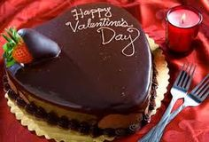 happy valentine's day Chocolates, Heart Shaped Cakes, Greek Cooking, Valentines Day Treats, Valentine Heart, Valentine Chocolate, Unique Cakes, Yummy Cakes, No Bake Cake