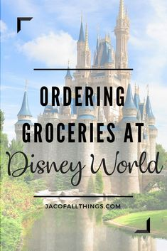 How to Order Groceries to Your Room at Disney World Learn how to save money on food during your next Disney World trip by ordering groceries! Read a comparison of all the place you can order from to get the best deal! A must have for your Disney vacation! Disney On A Budget, Disney World Planning, Disney World Vacation, Walt Disney World, Disney Travel, Disney Vacation Club, Florida Vacation, Disney Vacations, Orlando Vacation