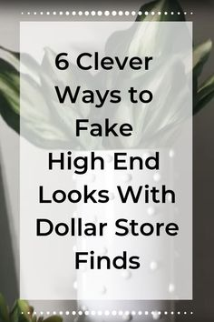 Hop on over to the dollar store to recreate these gorgeous projects to brighten up your home! diy diy home decor dollar store hacks dollar store upcycled upcycled diy home decor diy - diy-home-decor Dollar Store Hacks, Dollar Stores, Thrift Stores, Diy Home Decor Rustic, Handmade Home Decor, Bee Creative, Clear Glass Vases, Décor Boho, Easy Diy