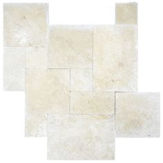 Super Light Tumbled French Pattern Travertine Pavers Uses: Excellent for Pools, decks, patios, lanais, entry ways, docks, borders, and walkways. Residential and commercial with heavy and light traffic