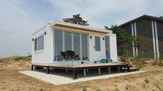 주말농장 농막주택 정화조 허가 설치가능! : 네이버 블로그 Tiny House Cabin, Prefab Homes, Basin, Recreational Vehicles, Container, Cottage, Modular Homes, House, Prefab Cottages