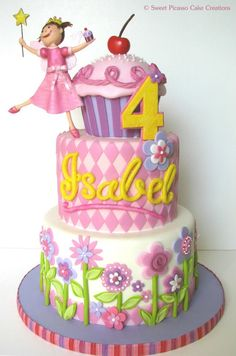 Pinkalicious Birthday Cake by sweet picasso cake creations - beautiful
