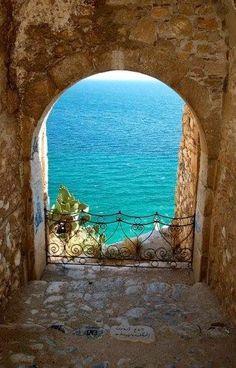 Sea Portal, Nafplio, Greece Please Follow: +Wonderful World