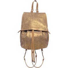 Jérôme Dreyfuss Florent backpack in calfskin leather ($312) ❤ liked on Polyvore