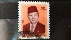 RARE Indonesia 25  STAMP TIMBRE | For sale on Delcampe