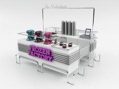The Fabulous Frozen Factory. El nombre lo dice todo en esta heladería mexicana, diseño de Jakob Gómez. | diariodesign.com