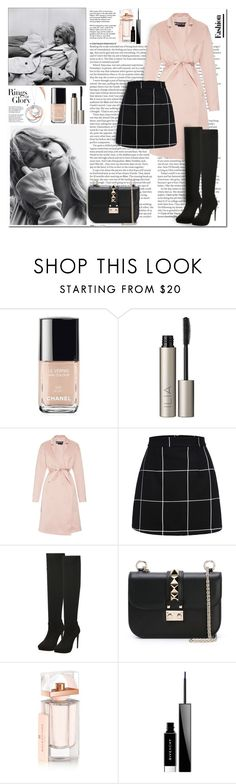 """""""Pretty Icon"""" by auroraconstance ❤ liked on Polyvore featuring Tiffany & Co., ASOS, Chanel, Ilia, Rochas, Valentino, Balenciaga and Givenchy"""