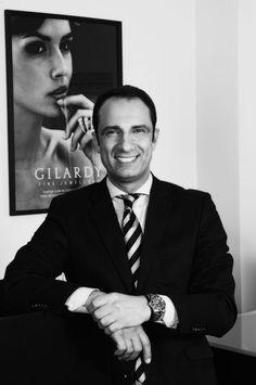 Portrait David Gilardy Firmeninhaber und Schmuck-Designer